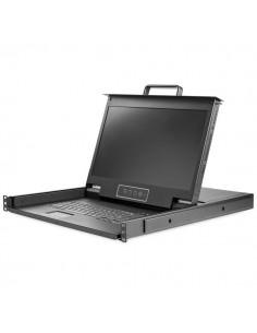 StarTech.com 1U enports KVM-konsol för serverrack - 17.3 tum 1080p HD Startech RKCONS17HD - 1