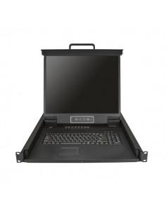 StarTech.com 16-Portars KVM-konsol för serverrack - 19 tum 1U Startech RKCONS1916K - 1