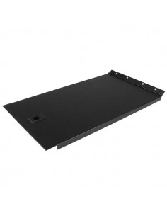StarTech.com Solid Blank Panel with Hinge for Server Racks - 6U Startech RKPNLHS6U - 1