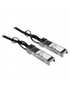 StarTech.com Cisco-kompatibel passiv SFP+ 10-Gigabit Ethernet-twinaxkabel för direktanslutning (10 GbE) - 1 m Startech SFPCMM1M