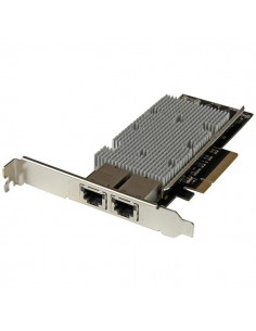 StarTech.com PCI Express 10GBase-T Ethernet- med 2 portar - Intel X540-chip Startech ST20000SPEXI - 1