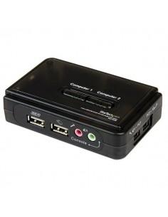 StarTech.com 2 Port Black USB Kit with Audio and Cables Startech SV211KUSB - 1