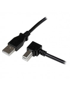 StarTech.com 1m USB 2.0 A to Right Angle B Cable - M/M Startech USBAB1MR - 1