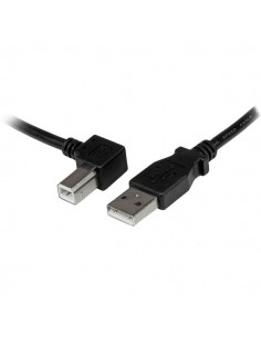 StarTech.com USBAB3ML USB-kaapeli 3 m USB 2.0 A B Musta Startech USBAB3ML - 1