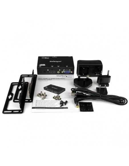 StarTech.com VS221VGA2HD videokytkin HDMI/VGA Startech VS221VGA2HD - 5