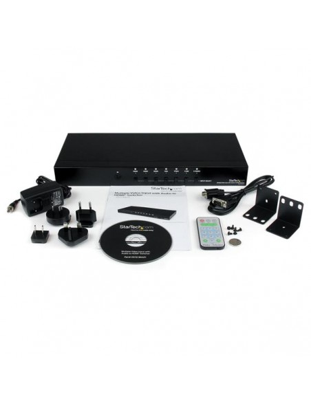 StarTech.com VS721MULTI videokytkin HDMI Startech VS721MULTI - 4