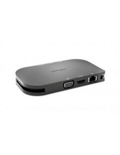 Kensington SD1600P USB-C Mobile Docking Station w/ Pass-Through Charging - 4K HDMI or HD VGA Win/Chrome/Mac Kensington K33968EU