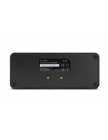 Kensington SD3600 Langallinen USB 3.2 Gen 1 (3.1 1) Type-B Musta Kensington K33991WW - 4