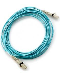 Hewlett Packard Enterprise 30m LC/LC OM3 valokuitukaapeli Sininen Hp AJ838A - 1
