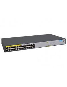 Hewlett Packard Enterprise 1420-24G-PoE+ (124W) Ohanterad L2 Gigabit Ethernet (10/100/1000) Strömförsörjning via (PoE) stöd 1U H
