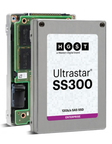 "Western Digital Ultrastar SS300 2.5"" 1920 GB SAS 3D TLC Western Digital 0B34996 - 1"