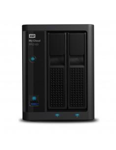 Western Digital My Cloud PR2100 NAS Skrivbord Nätverksansluten (Ethernet) Svart N3710 Western Digital WDBBCL0000NBK-EESN - 1