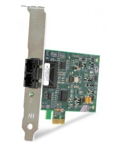 Allied Telesis 100FX Desktop PCI-e Fiber Network Adapter Card w/PCI Express, Federal & Government 100 Mbit/s Allied Telesis AT-2