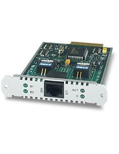 Allied Telesis 1-Port (S) Basic Rate ISDN PIC nätverkskort/adapters Allied Telesis AT-AR021S-00 - 1