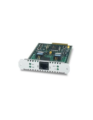 Allied Telesis 1-Port (S) Basic Rate ISDN PIC liitäntäkortti/-sovitin Allied Telesis AT-AR021S-00 - 1