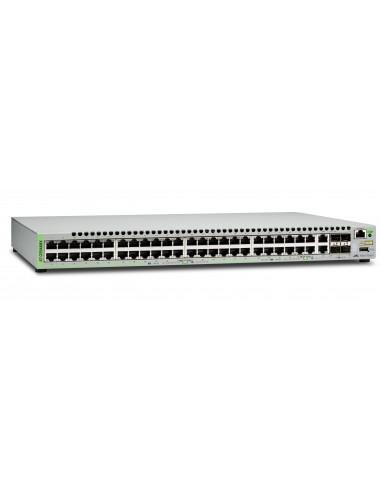Allied Telesis AT-GS948MX-50 hanterad L2 Gigabit Ethernet (10/100/1000) Grå Allied Telesis AT-GS948MX-50 - 1
