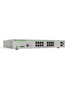 Allied Telesis AT-GS970M/18PS-30 network switch Managed L3 Gigabit Ethernet (10/100/1000) Power over (PoE) Grey Allied Telesis A