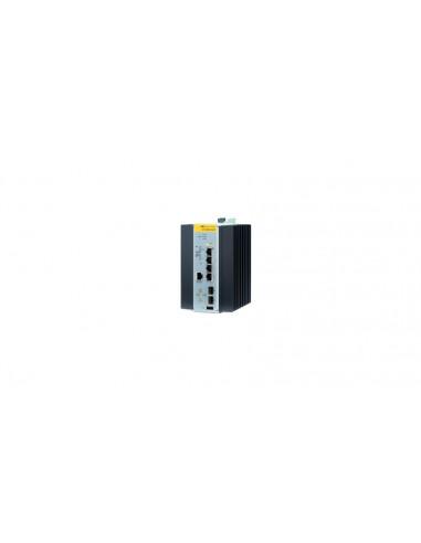 Allied Telesis 990-003868-80 hanterad L2 Gigabit Ethernet (10/100/1000) Strömförsörjning via (PoE) stöd Svart Allied Telesis AT-