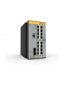 Allied Telesis AT-IE340L-18GP-80 Hallittu L3 Gigabit Ethernet (10/100/1000) Power over -tuki Harmaa Allied Telesis AT-IE340L-18G