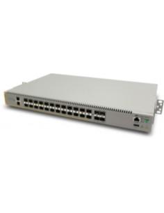Allied Telesis AT-IE510-28GSX-80 hanterad L3 Gigabit Ethernet (10/100/1000) Grå Allied Telesis AT-IE510-28GSX-80 - 1