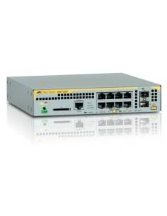 Allied Telesis AT-x230-10GP-50 hanterad L2+ Gigabit Ethernet (10/100/1000) Strömförsörjning via (PoE) stöd Grå Allied Telesis AT