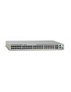 Allied Telesis AT-x930-52GPX hanterad L3 Gigabit Ethernet (10/100/1000) Strömförsörjning via (PoE) stöd Grå Allied Telesis AT-X9