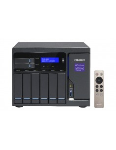 QNAP TVS-882 i3-6100 Ethernet LAN Tower Harmaa NAS Qnap TVS-882-I3-8G - 1