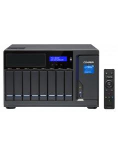 QNAP TVS-882BR Ethernet LAN Työpöytä Musta NAS Qnap TVS-882BR-ODD-I7-32G - 1