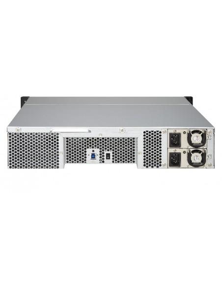 QNAP UX-800U-RP levyjärjestelmä Musta Qnap UX-800U-RP - 14