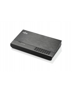 Fujitsu PR09 Langallinen USB 3.2 Gen 1 (3.1 1) Type-C Musta Fujitsu Technology Solutions S26391-F6007-L500 - 1