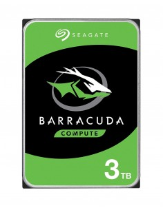 "Seagate Barracuda ST3000DM007 sisäinen kiintolevy 3.5"" 3000 GB Serial ATA III Seagate ST3000DM007 - 1"