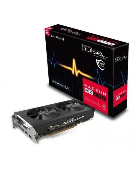Sapphire 11266-67-20G näytönohjain AMD Radeon RX 570 4 GB GDDR5 Sapphire Technology 11266-67-20G - 1