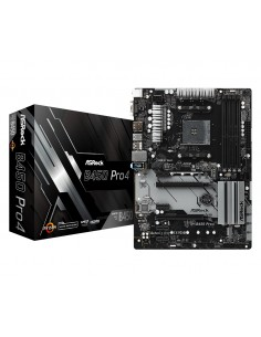 Asrock B450 Pro4 Kanta AM4 ATX AMD Asrock 90-MXB8B0-A0UAYZ - 1