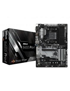Asrock B450 Pro4 emolevy Kanta AM4 ATX AMD Asrock 90-MXB8B0-A0UAYZ - 1