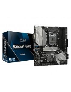 Asrock B365M Pro4 emolevy LGA 1151 (pistoke H4) mikro ATX Intel B365 Asrock 90-MXB9T0-A0UAYZ - 1