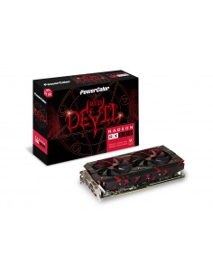 PowerColor Red Devil AXRX 580 8GBD5-3DH/OC grafikkort AMD Radeon RX 8 GB GDDR5 Tul Corporation AXRX580 8GBD5-3DH/OC - 1