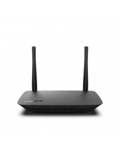 Linksys E2500V4 trådlös router Snabb Ethernet Dual-band (2,4 GHz / 5 GHz) Svart Linksys E2500V4-EU - 1