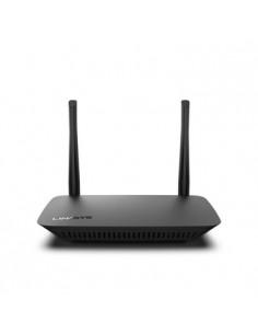 Linksys E5400 langaton reititin Gigabitti Ethernet Kaksitaajuus (2,4 GHz/5 GHz) Musta Linksys E5400-EU - 1