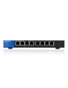 Linksys LGS108P Hallitsematon Gigabit Ethernet (10/100/1000) Power over -tuki Musta Linksys LGS108P-EU - 1