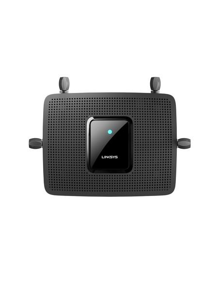 Linksys MR8300 wireless router Gigabit Ethernet Tri-band (2.4 GHz / 5 GHz) Black Linksys MR8300-EU - 6
