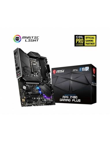 MSI MPG Z490 GAMING PLUS moderkort Intel LGA 1200 ATX Msi MPG Z490 GAMING PLUS - 1