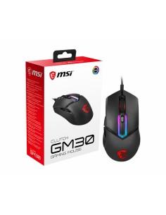 MSI Clutch GM30 hiiri Oikeakätinen USB A-tyyppi Optinen 6200 DPI Msi S12-0401690-D22 - 1
