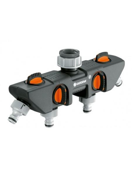 Gardena 08194-20 water hose fitting Grey, Orange, Silver 1 pc(s) Gardena 08194-20 - 1
