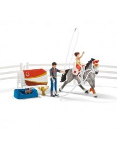 Schleich Horse Club Mia's vaulting riding set Schleich 42443 - 1
