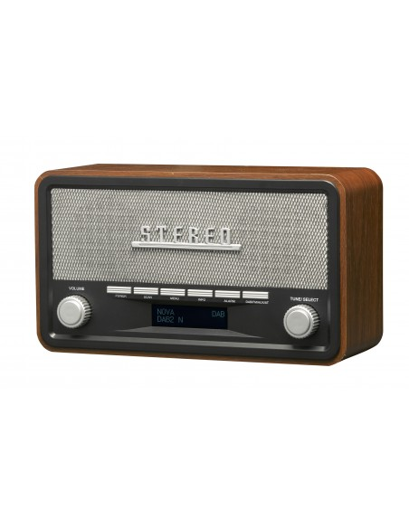 Denver DAB-18 radio Henkilökohtainen Analoginen & digitaalinen Musta, Harmaa Denver 111111000180 - 3
