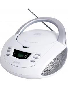 Denver TCU-211WHITE cd-soitin Henkilökohtainen Hopea, Valkoinen Denver 111141200230 - 1