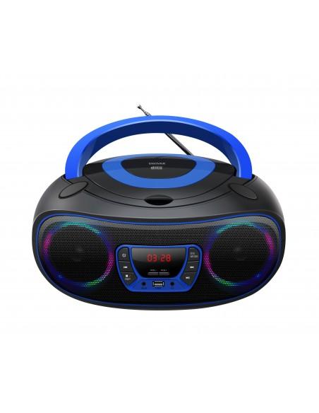 Denver TCL-212BT BLUE CD-soitin Kannettava Musta, Sininen Denver 111141300010 - 2