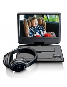 """Lenco DVP-947 bärbara DVD/Blu-Ray-spelare Bärbar DVD-spelare Bordsskiva 22.9 cm (9"""") 802 x 480 pixlar Svart Lenco DCP947BK - 1"""