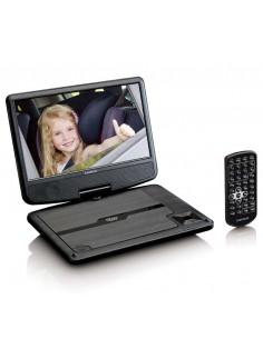 "Lenco DVP-901BK Kannettava DVD-/Blu-ray-soitin DVD-soitin Pöydän pinta Musta 22.9 cm (9"") Lenco DVP901SCHWARZ - 1"