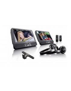 "Lenco DVP-939 kannettava DVD-/Blu-ray-soitin Pöydän pinta Musta 22.9 cm (9"") 800 x 480 pikseliä Lenco DVP939 - 1"